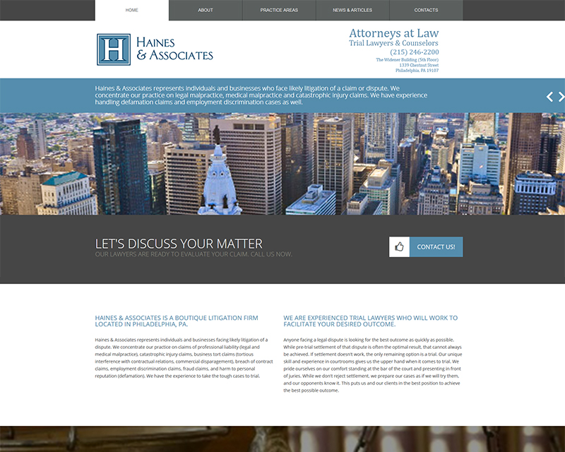 Haines & Associates Law Firm