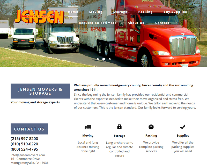 Jensen Movers & Storage