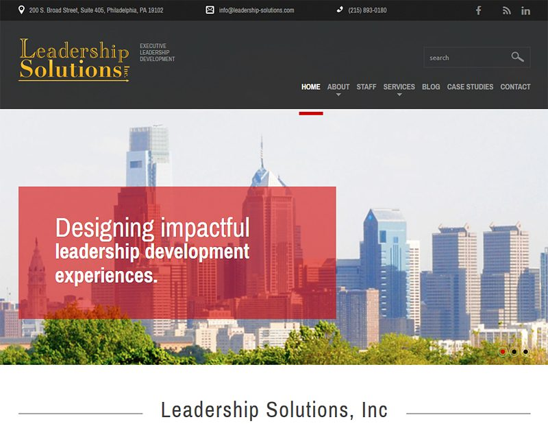 Leadership Solutions Inc - Philadelphia, PA
