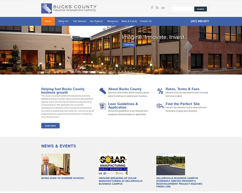 build website government agency web design