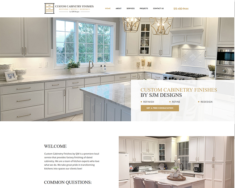 kitchen remodeling website design cabinetry